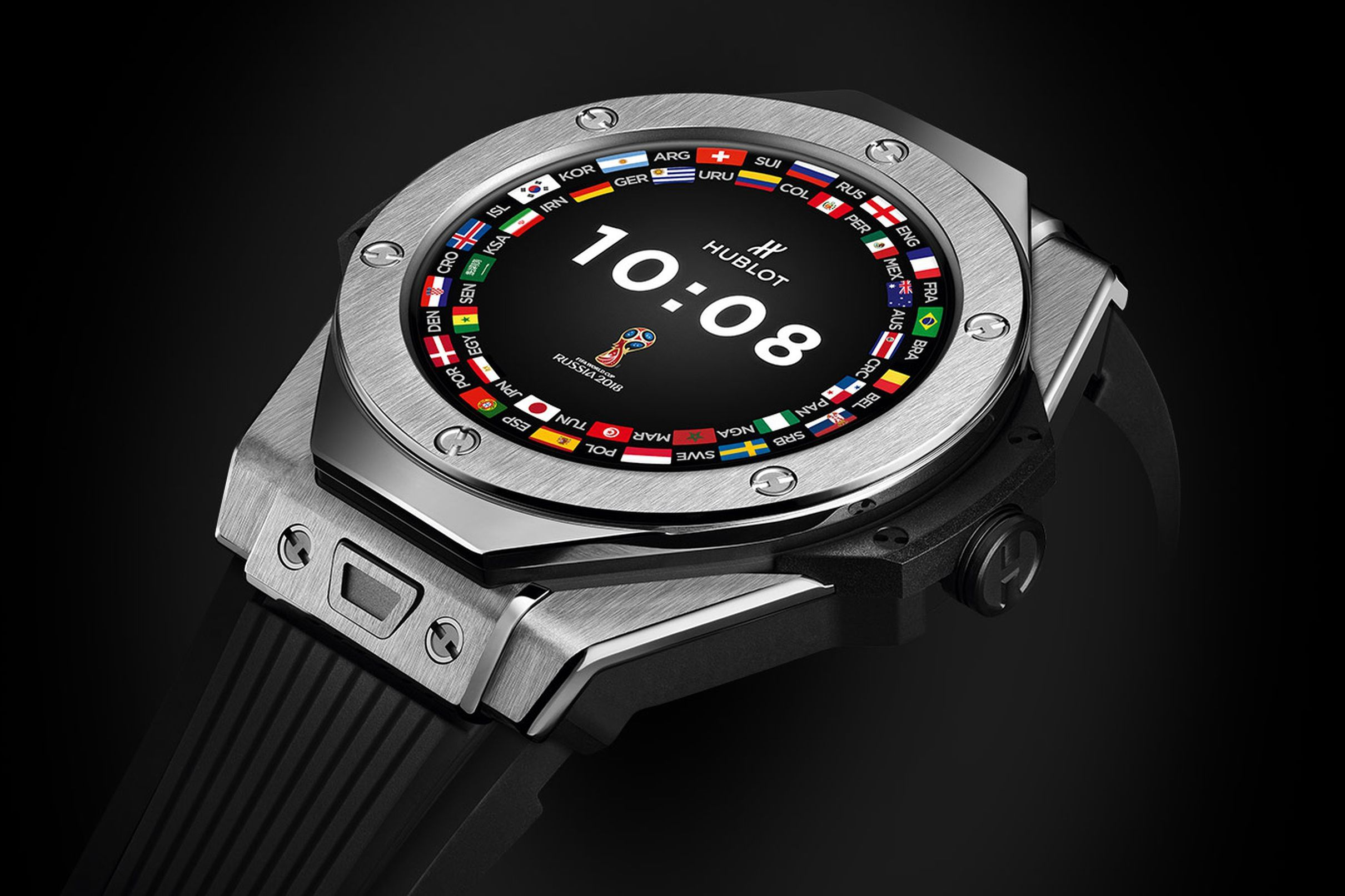 610f2deeeb8 World Cup referees will use Hublot s new Wear OS watch to check for goals