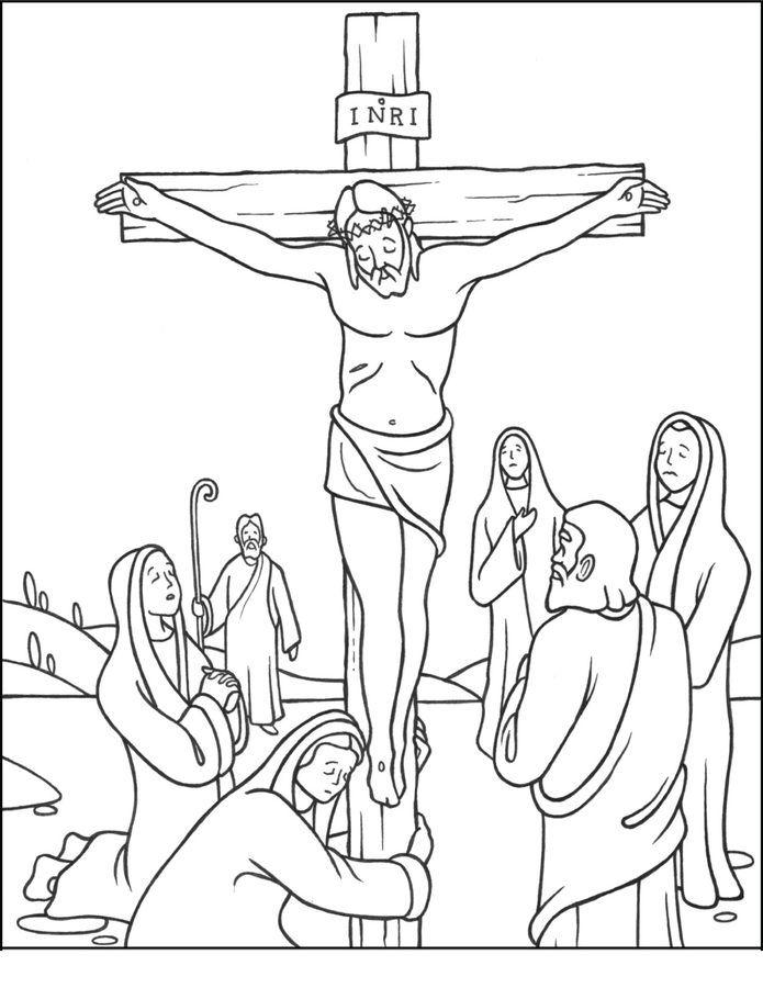 jesus stationen des kreuzes ausmalbilder ausmalbilder