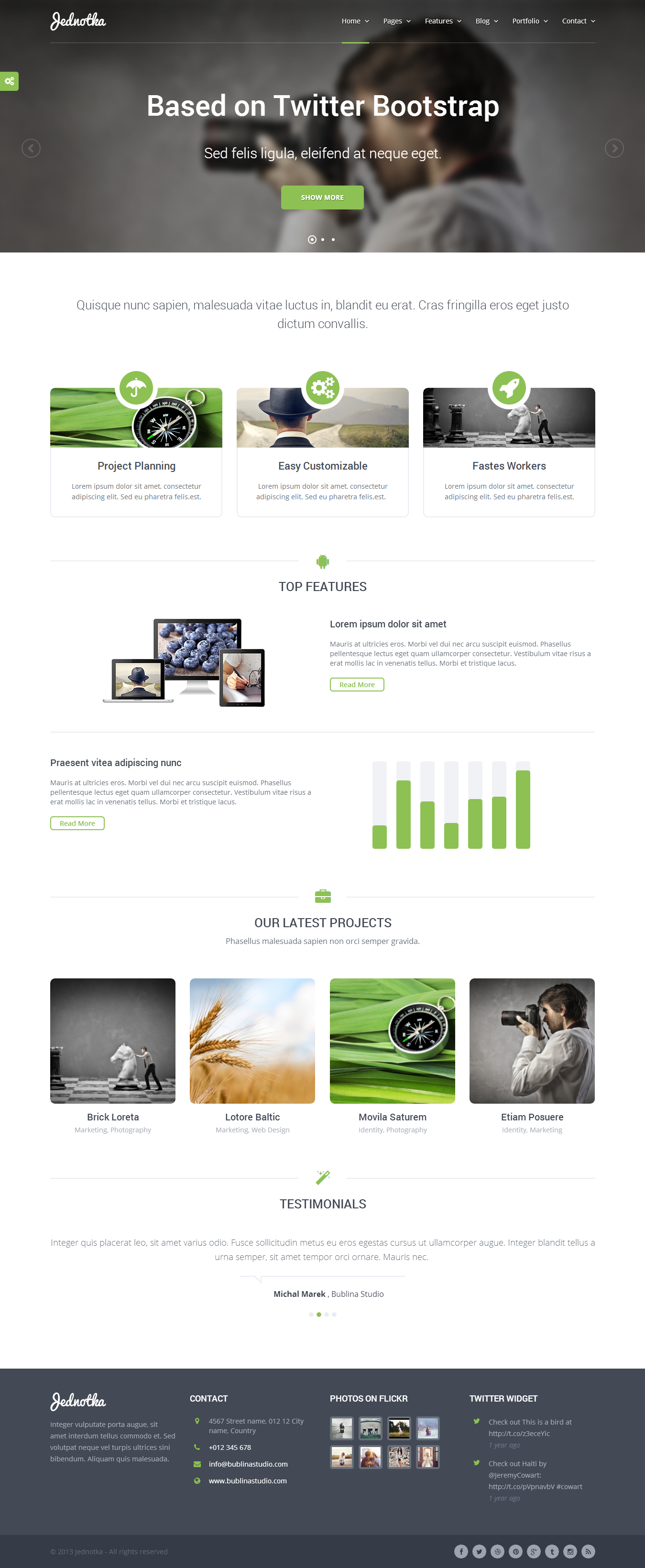 Jednotka - Multipurpose WordPress Theme | Wordpress, Template and ...
