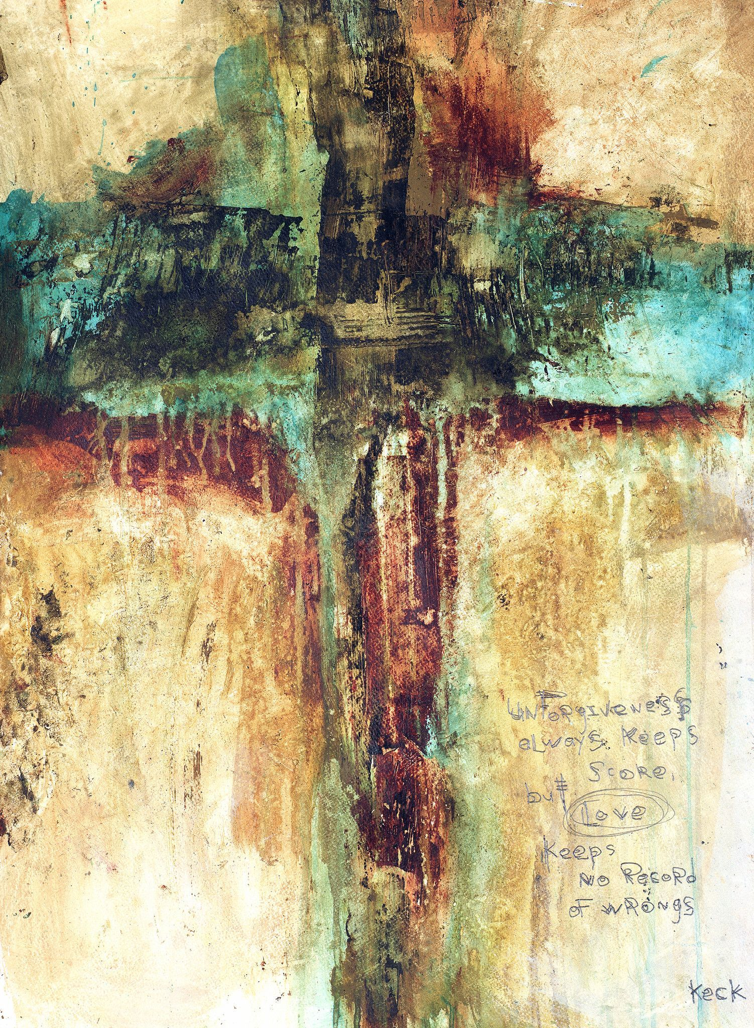 CROSS ART Canvas Print of Cross #041209 | Cross art, Canvases and ...