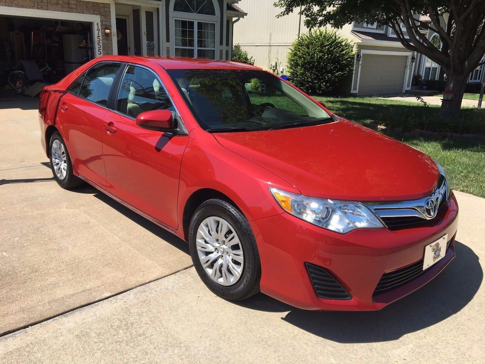 Cool Amazing 2014 Toyota Camry LE 2014 Toyota Camry with 100K mile