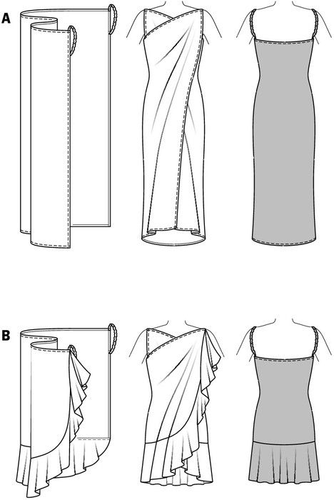 Beach wrap pattern | Accessories DIY | Pinterest | Sewing, Diy ...
