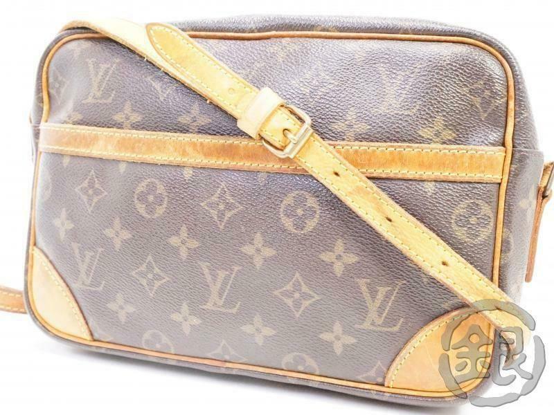 Ebay Ad Auth Pre Owned Louis Vuitton Monogram Trocadero Mm Crossbody Bag M51274 190986 Louis Vuitton Monogram Louis Vuitton Crossbody Shoulder Bag
