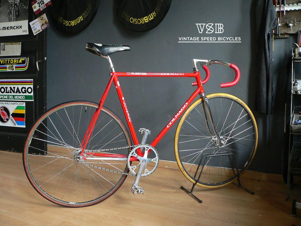 Colnago Esamexico Fci Pista Track Bike Ebay Bicycle Speed Bicycle Track Bike