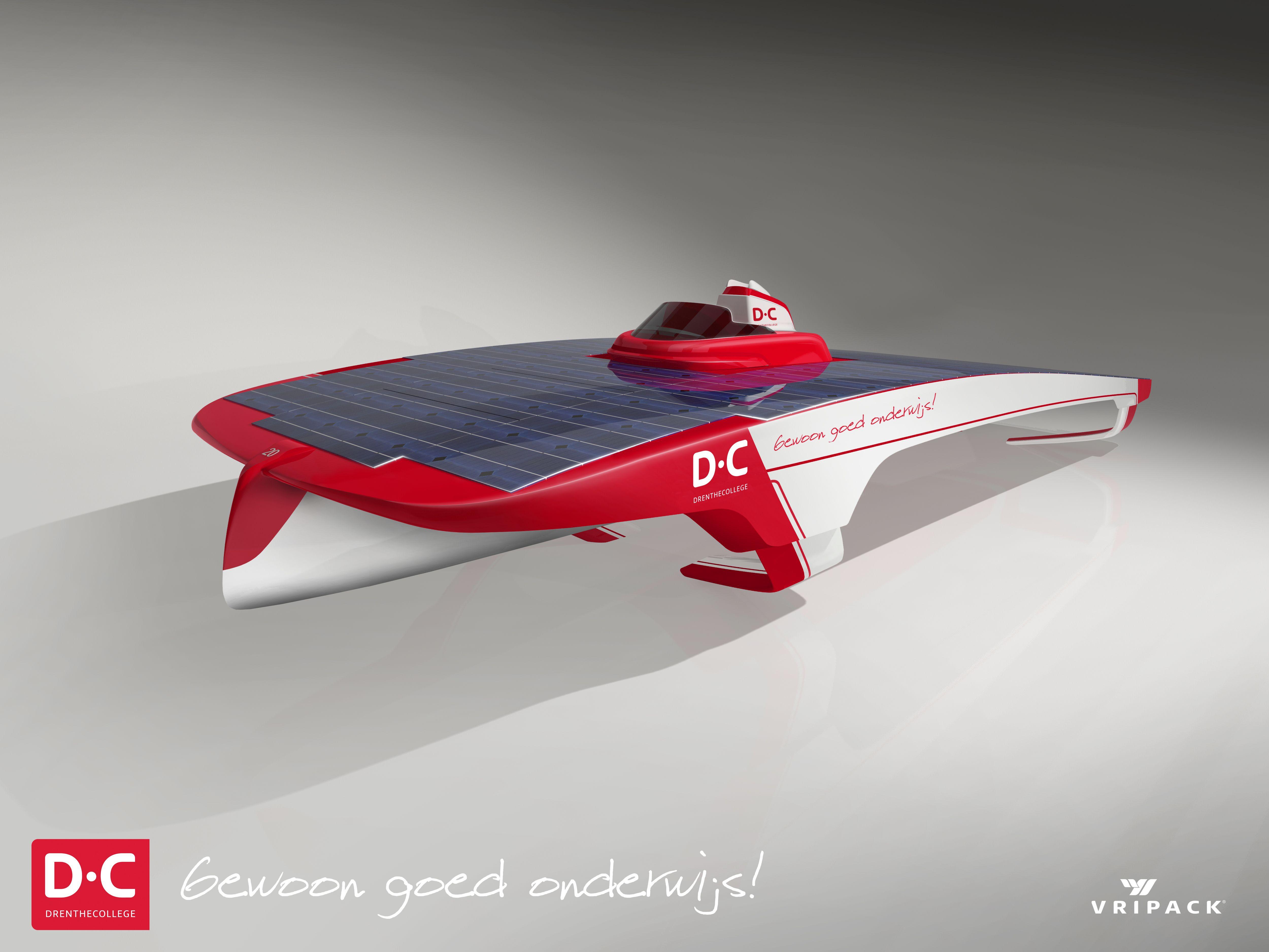 Solar Challenge, Boot 2014 - DC team