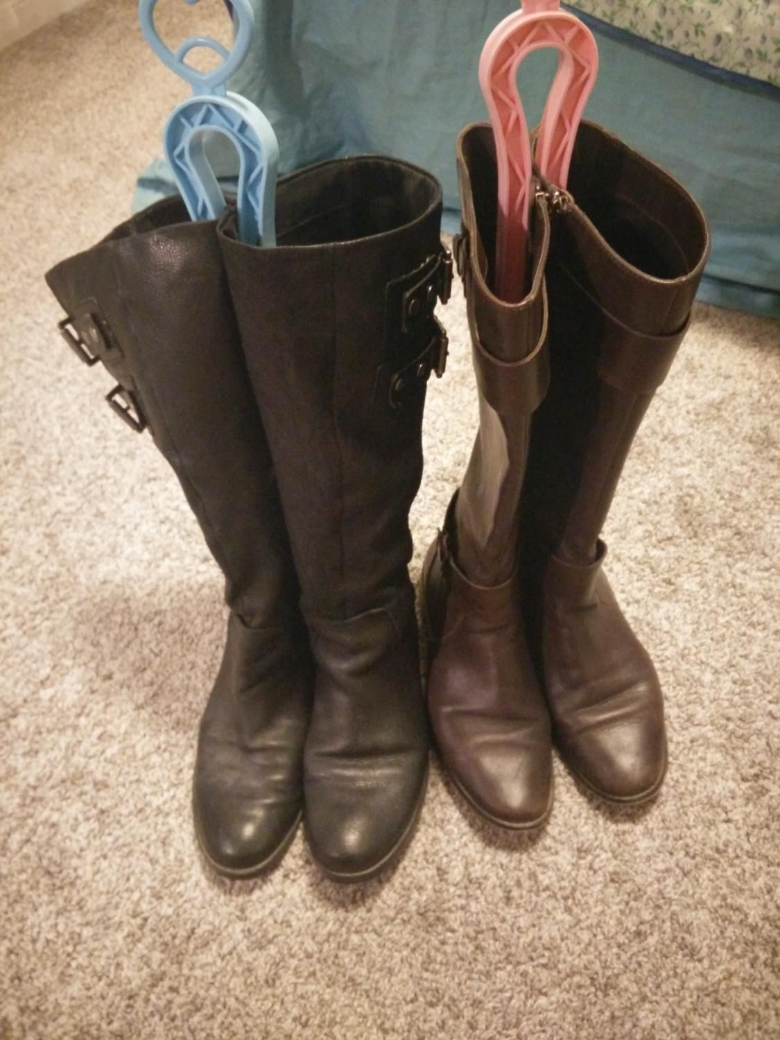c878e8ce2c5b Find more Two Pairs Of Leather Boots Ellen Tracy Nine West - Take Both For   15