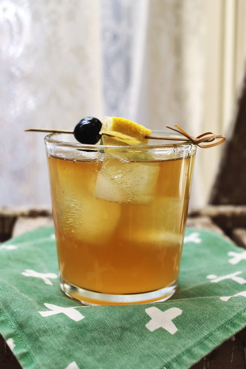 A fresher homemade whiskey sour recipe!