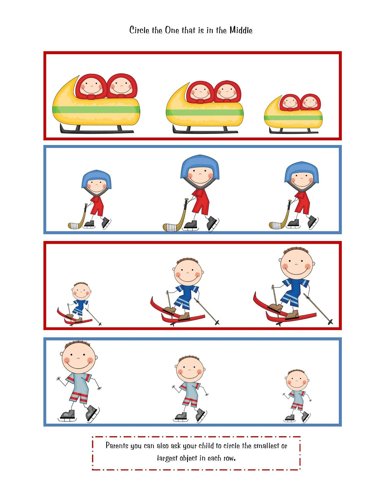Olympic Sport Printables