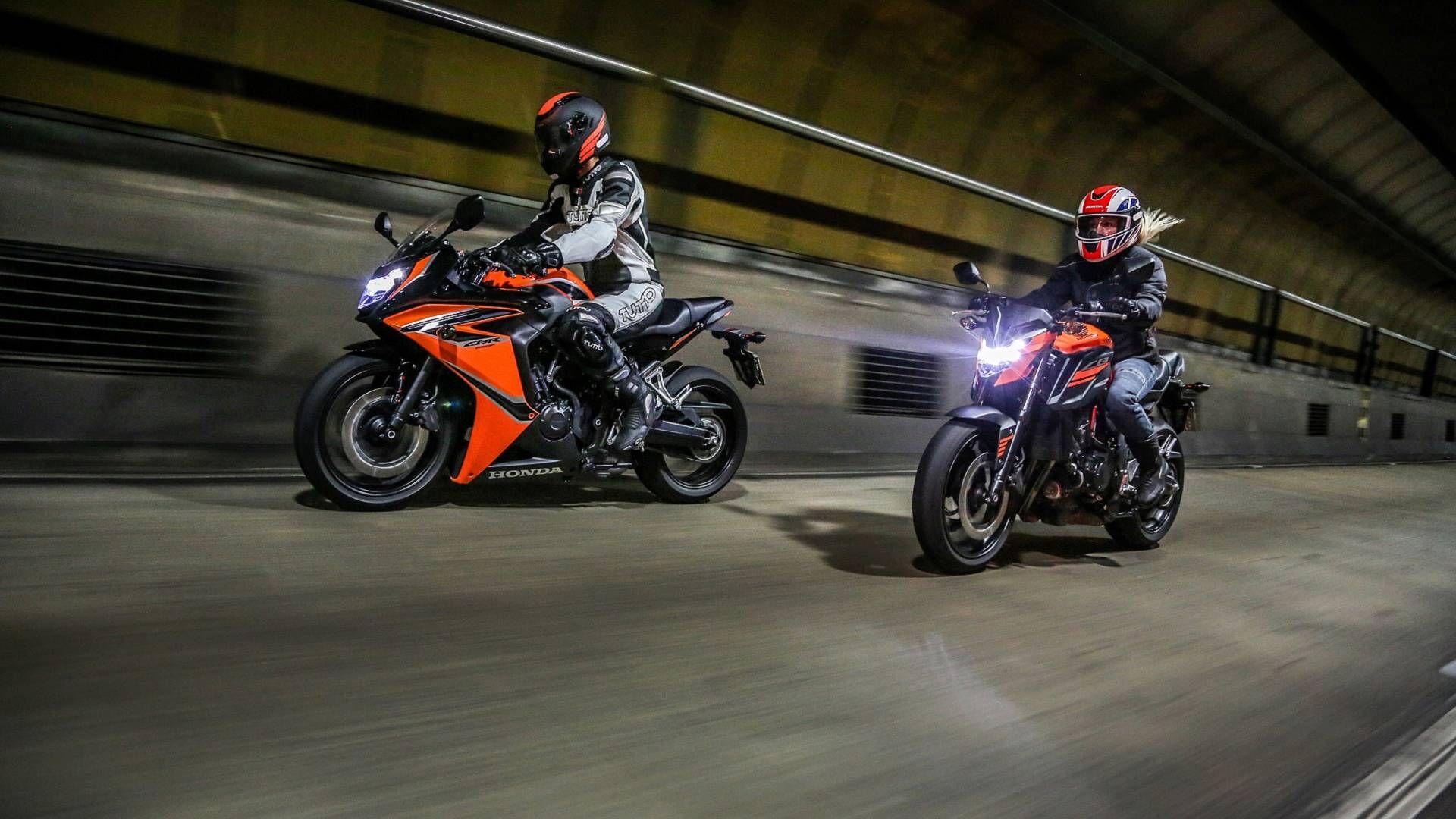 Honda CB 650F e CBR 650F ganham novas cores na linha 2019