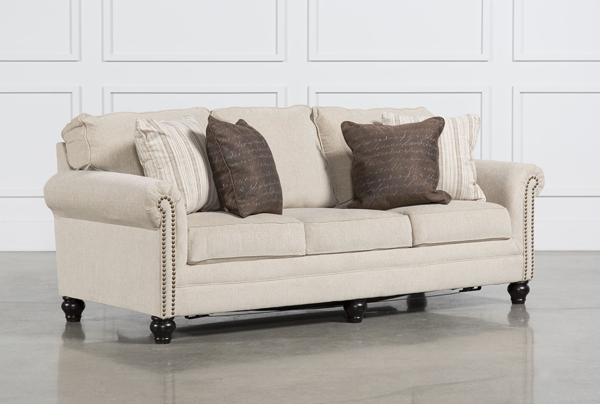 Living Spaces 81875 Signature but in a dark fabric