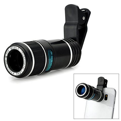 Universal 12X LongFocus Clip On Telephoto Lens for Android