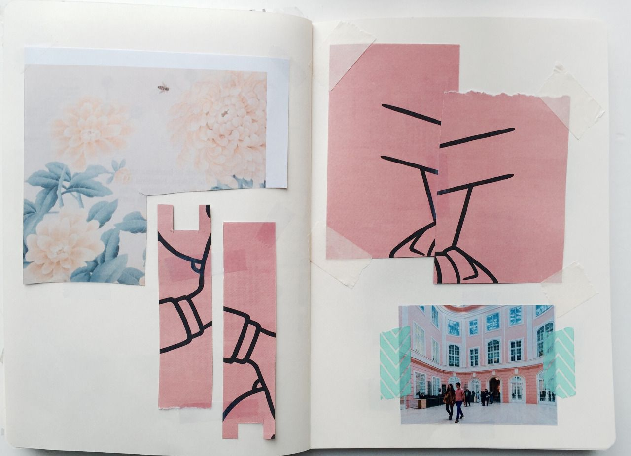 hints of pink, journal pages (1)