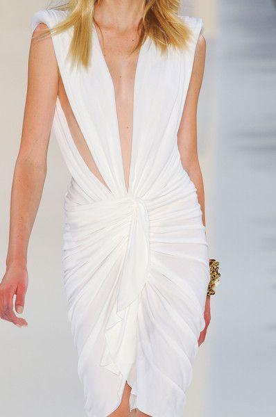 Alexandre Vauthier Fall 2012 - #white #dress
