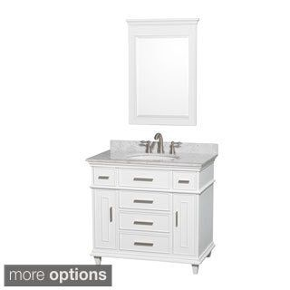 Shop For Wyndham Collection Berkeley Inch Single Vanity Get - Bathroom vanity 36 x 18 for bathroom decor ideas