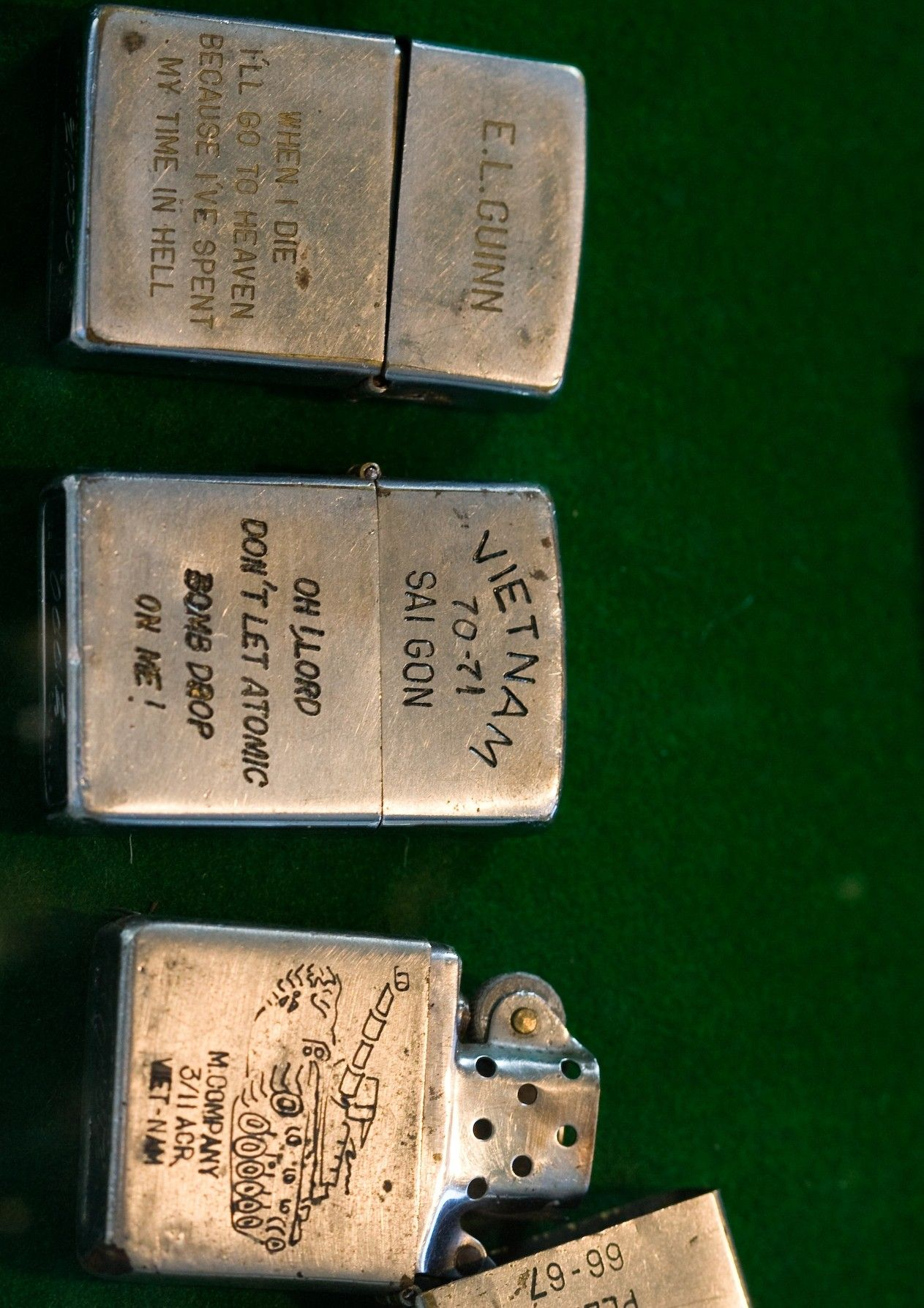 Vietnam Lighters Vietnam Vietnam War Engraved Zippo