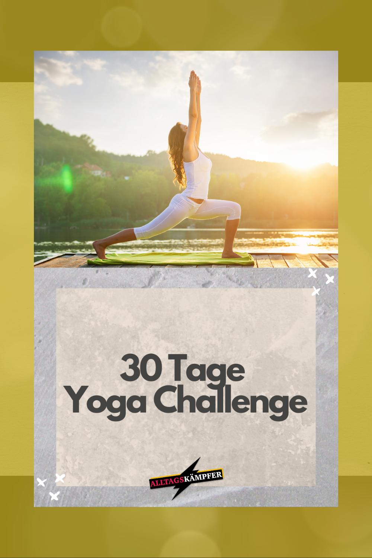 30 Tage Yoga Challenge - Alltagskämpfer