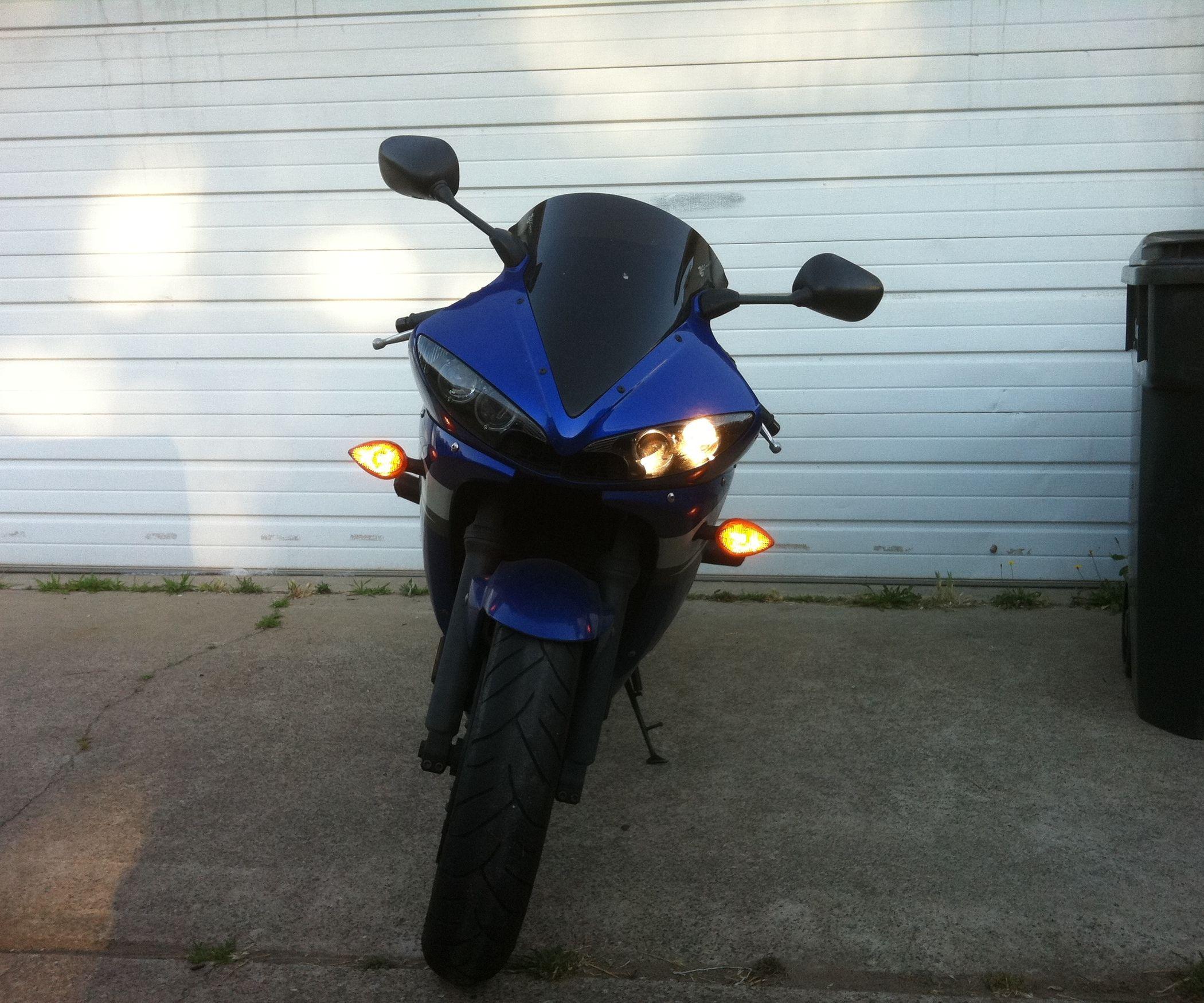 Installing A Garage Door Opener On Your Motorcycle Garage Doors Garage Door Opener Motorcycle