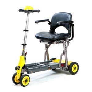 Scooter eléctrica plegable de pequeñas dimensiones