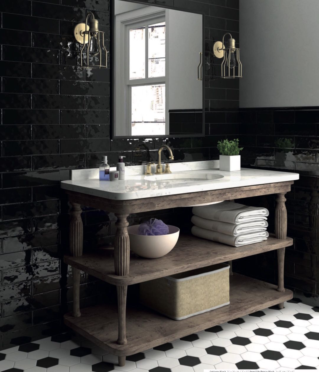 Www Pitrebathrooms Com Black Tile Bathrooms Black Tiles Kitchen Black Wall Tiles