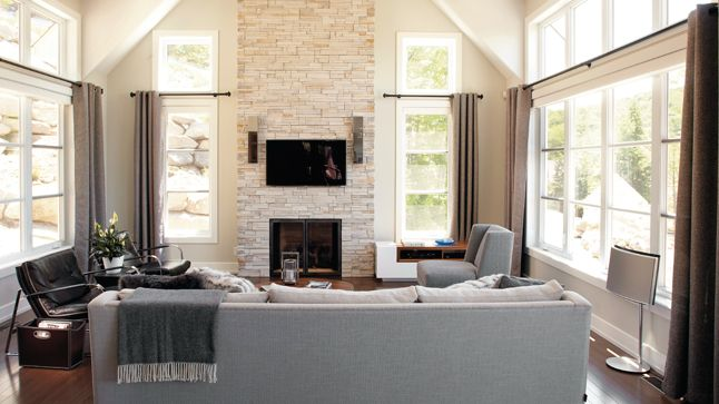 Pre-engineered home; Jordan by Bonneville changed master bath - tva construction maison neuve