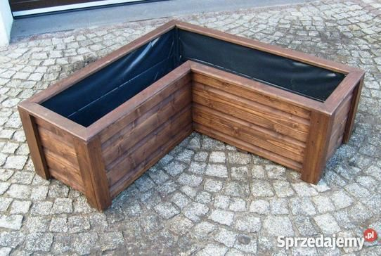 Www Sprzedajemy Pl Donica Drewniana Doniczka Donice Doniczki N 155 Zl Outdoor Storage Box Outdoor Decor Outdoor Furniture