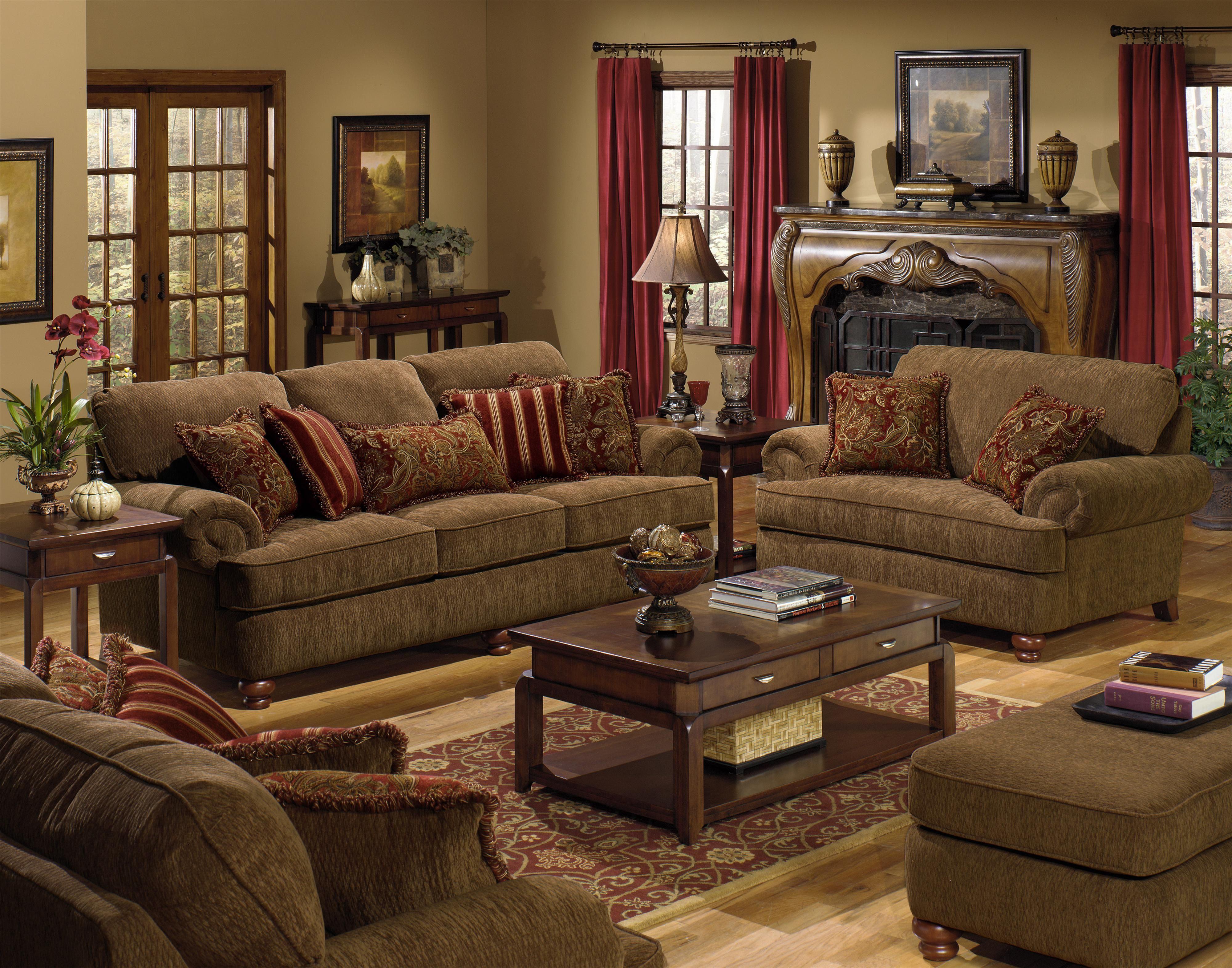 4347 Belmont Stationary Living Room Group By Jackson Furniture