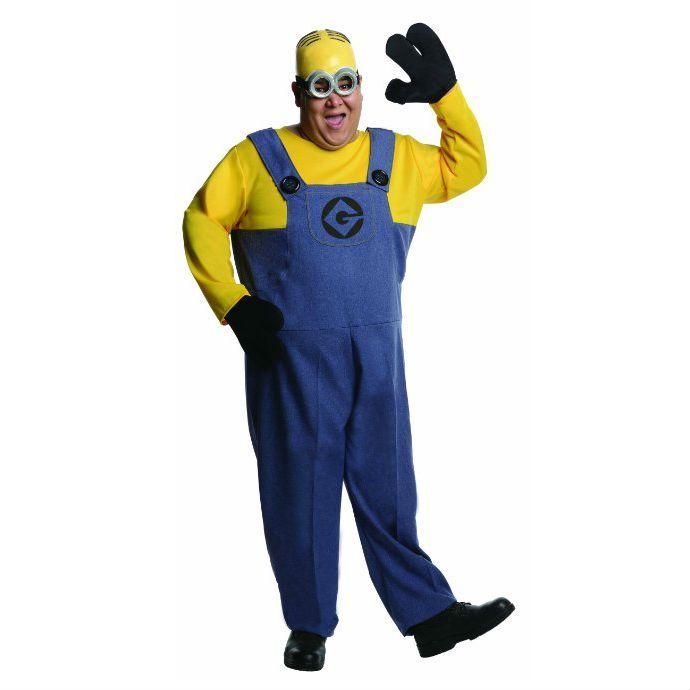 Plus Size Minion Costume  sc 1 st  Pinterest & Plus Size Minion Costume | Minion Costumes | Pinterest | Adult ...