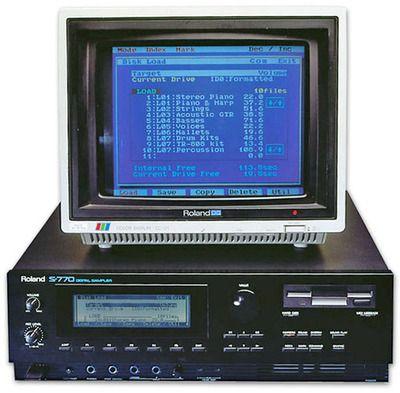 roland s 770 released 1989 in 2019 synthesizer music retro arcade machine drum machine. Black Bedroom Furniture Sets. Home Design Ideas
