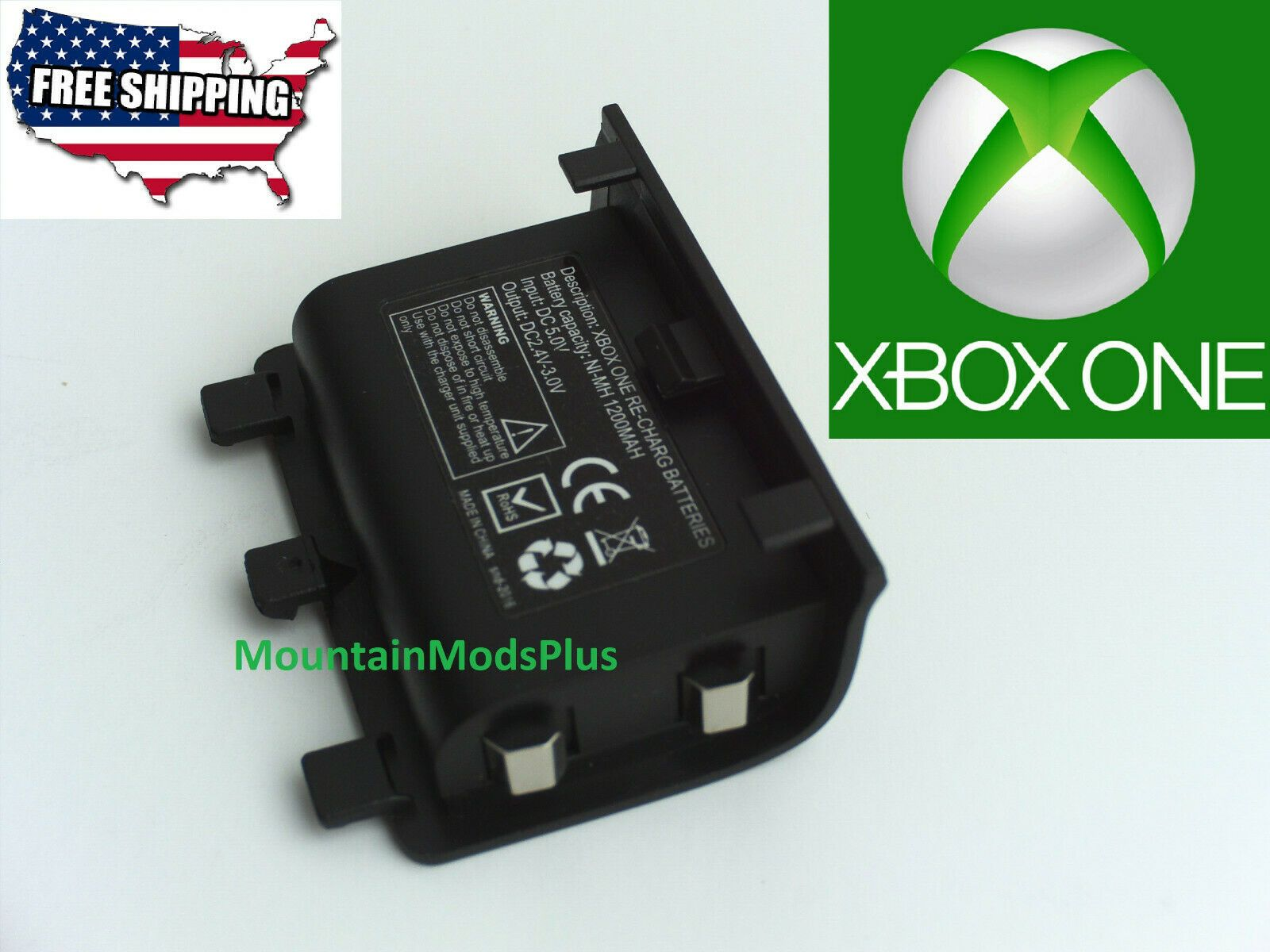 New Rechargeable Battery Pack Microsoft Xbox One Wireless Controller Charger Wireless Controller Xbox One Battery Pack