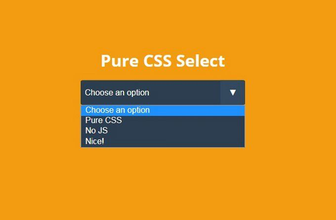 25+ Amazing CSS Select Boxes 2019 | Css, The selection ...