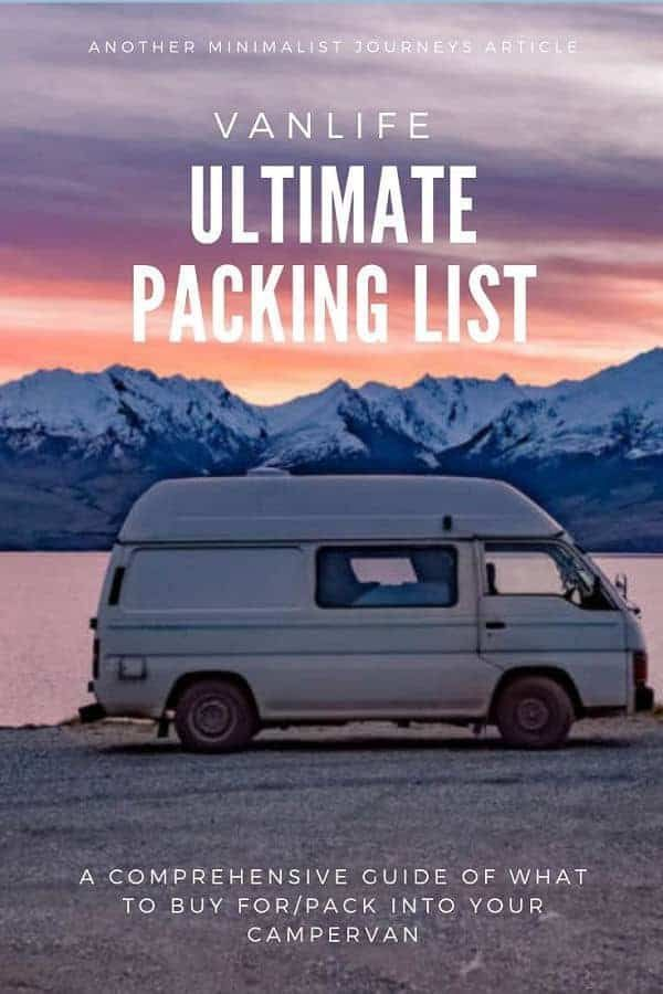 Photo of Van Life Essentials: The complete packing list for your campervan travels