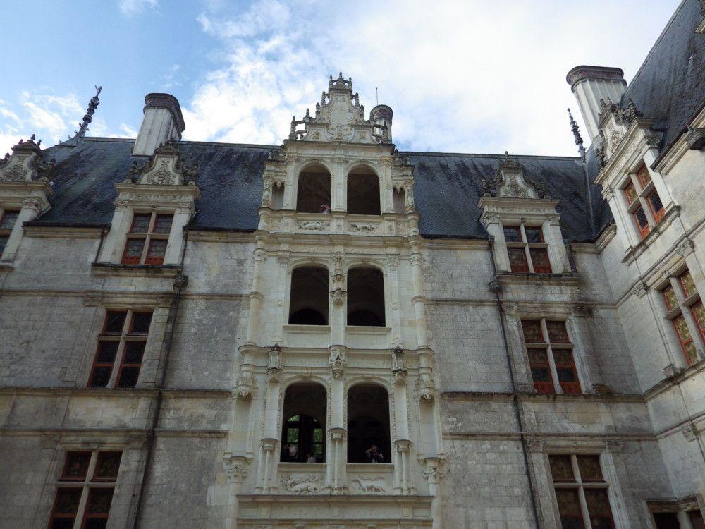 Visite d\'Azay-le-Rideau une petite commune de France du département ...