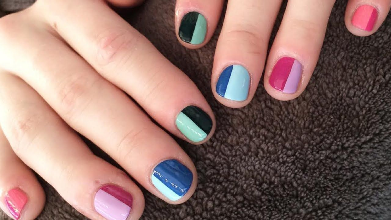Nail Art Designs For Short Nails Videos Hession Hairdressing