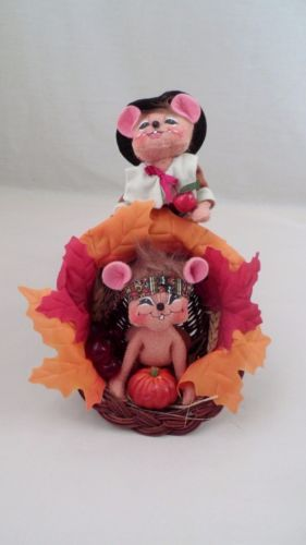 Sweet-Retired-2008-Annalee-Thanksgiving-Pilgrim-Indian-Mice-Fall-Cornucopia  -  Pinned 10-9-2015.