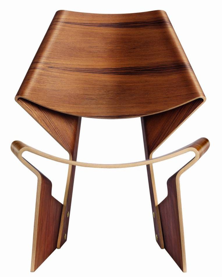 GRETE JALK, Chair, Denmark, 1963. Material Teak Plywood. Re Edition
