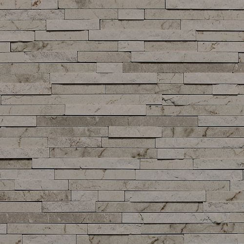 Silver Screen Random Honedsplit Face Dal Tile S  P Fireplace - Daltile backsplash ideas