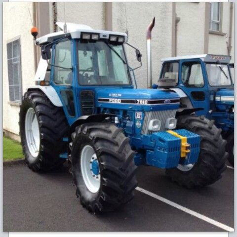 Ford 7810 Force 3 Turbo Very Nice Example Ford Tractors New Holland Ford Classic Tractor