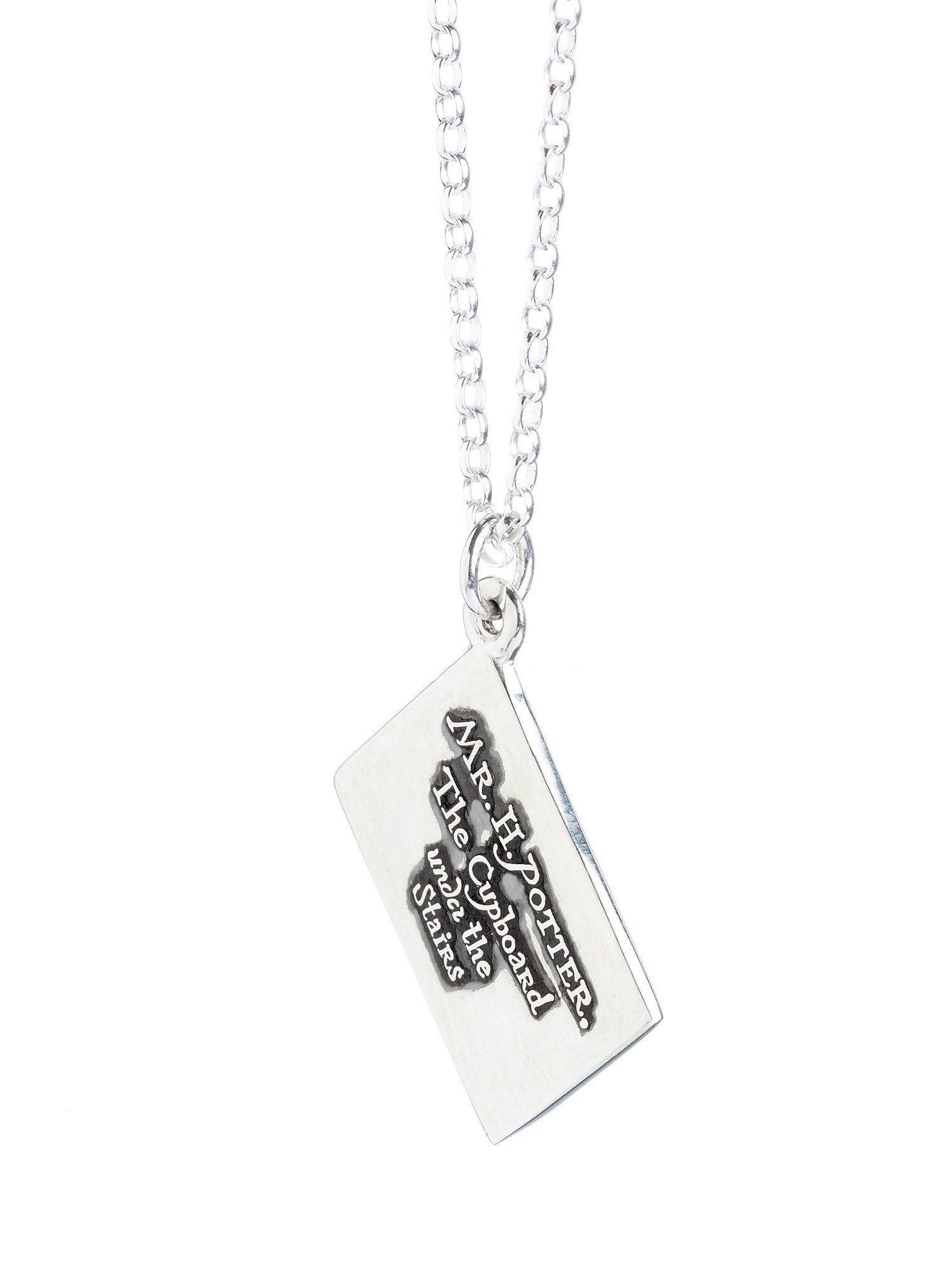 Official harry potter hogwarts acceptance letter charm necklace