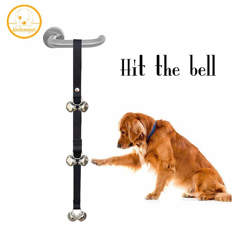 Click To Buy New Pet Door Bells Dog Training Doorbell Rope