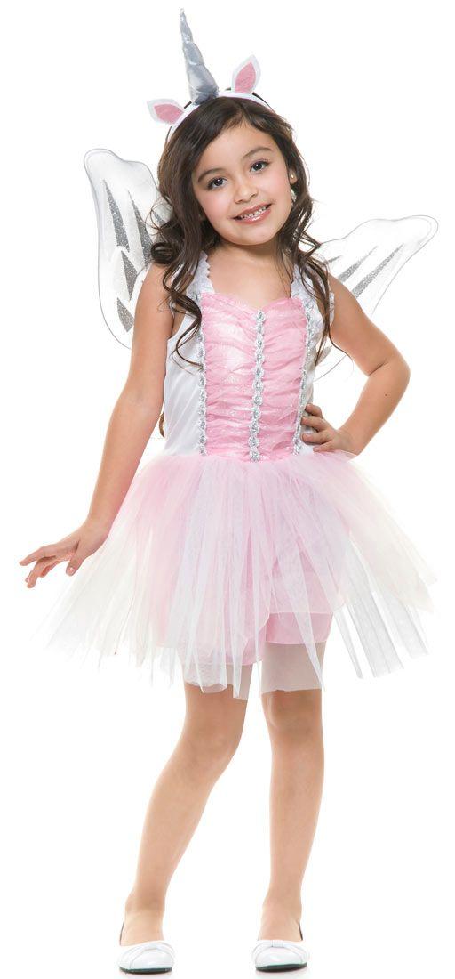 037e42a74 Girls Unicorn Fairy Costume - Fairy Costumes   Cute Halloween ...