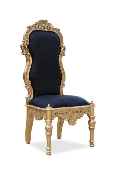 Exceptionnel Noblesse Chair   Black U0026 Gold
