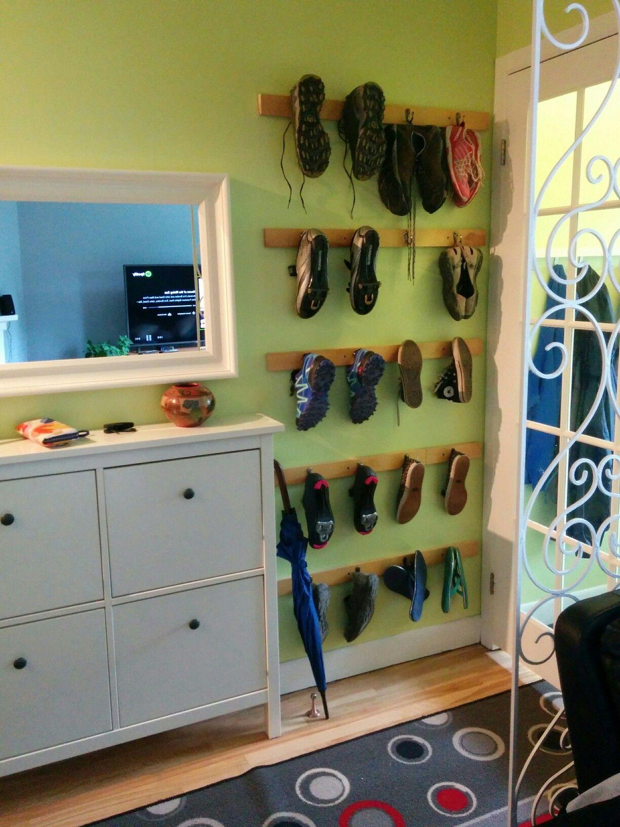 Range Chaussures Familial Fait Maison Chaussures Faite Maison Rangement Chaussures Rangement
