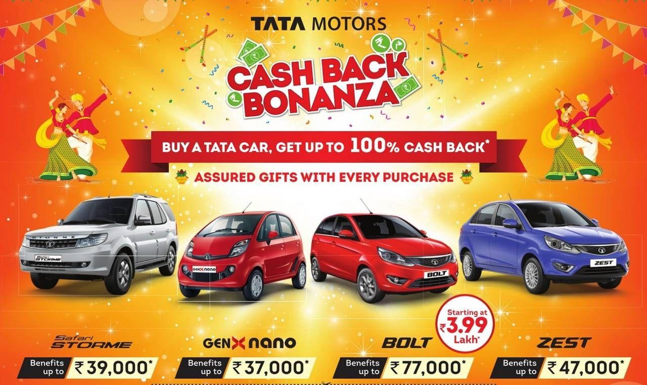 Tata Bolt Zest Nano Safari Indigo Celebration Edition Tata