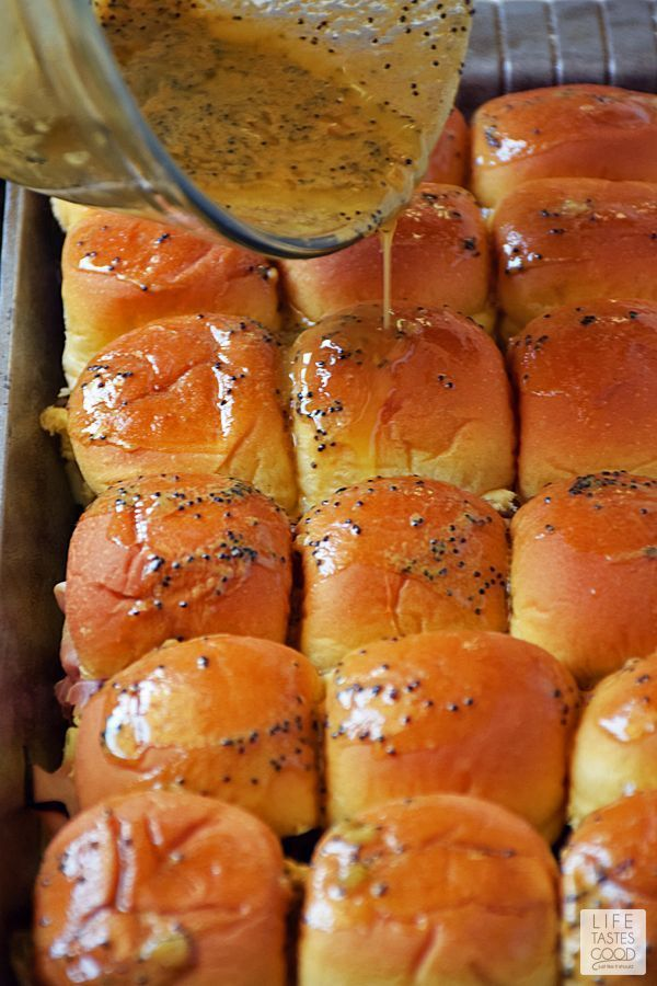 Oven Baked Ham and Cheese Sliders