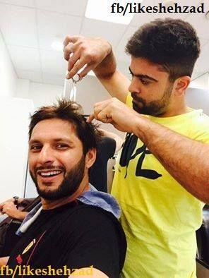 Ahmad Shahzad Shahid Afridi Psl Sports Celebrities Live Matches