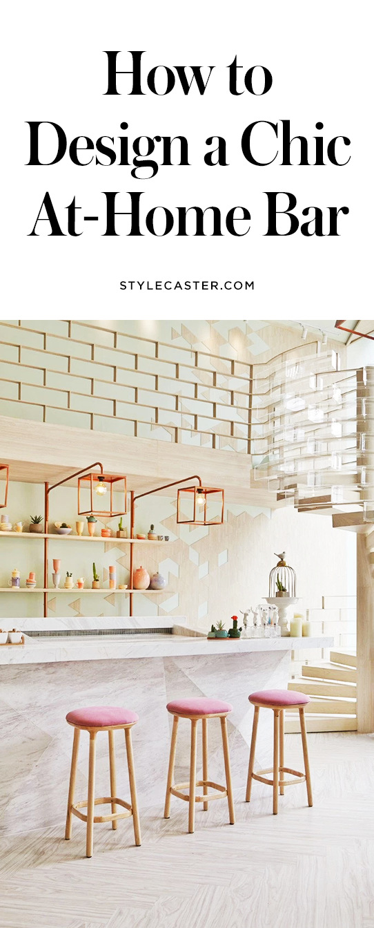 5 Foolproof Ways To Create A Chic At Home Bar