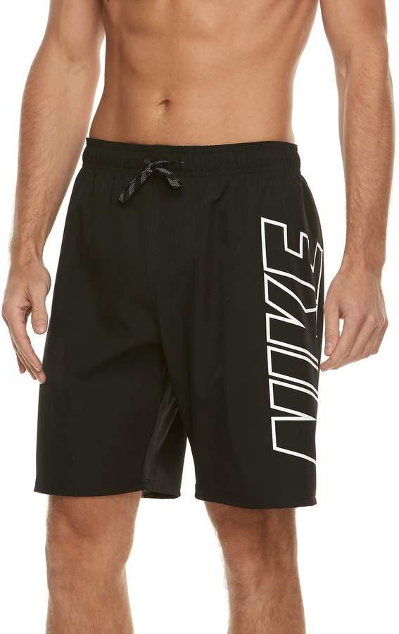 ef41a70409 Men's Nike Logo Volley Swim Trunks   Products   Swim trunks, Nike ...