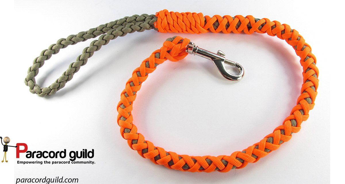 How to make a paracord dog leash paracord projects for Paracord stuff to make