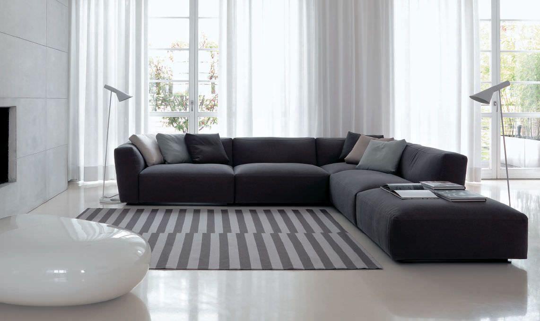 Corner sofa / modular / contemporary / indoor ELLIOT ...