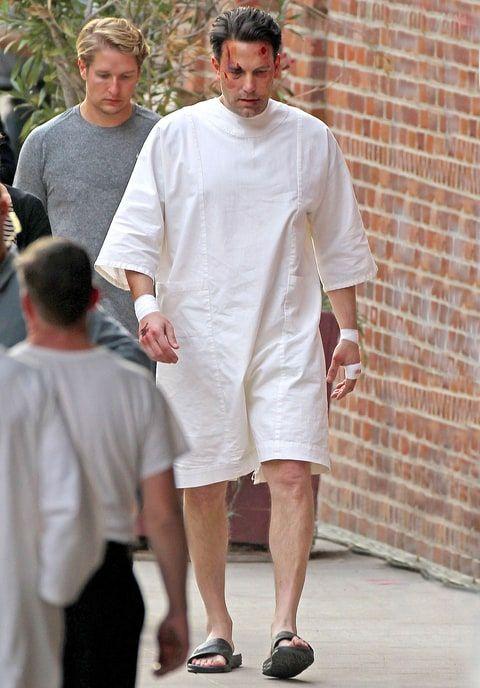 See Ben Affleck S Massive New Back Tattoo Ben Affleck Ben
